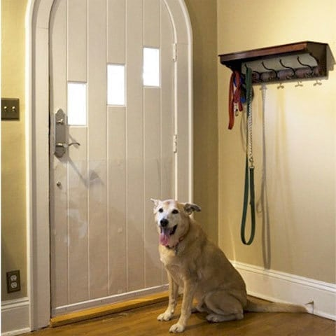 how to get a cat to stop scratching doors